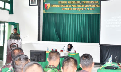Anggota TNI yang Terjerat Narkoba Akan Diberhentikan Tidak Hormat. (Foto Dok. NUSANTARANEWS.CO)