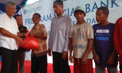 Bank Indonesia Salurkan Bantuan ke Kampung Idiot. (Foto Istimewa)