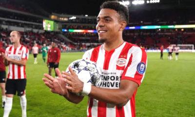 donyell malen, pesepakbola muda, belanda pemborong lima gol, dalam satu laga, nusantaranews