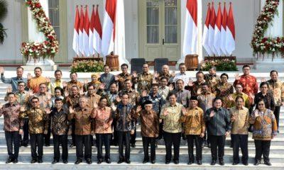 Kabinet Indonesia Maju 2019-2024. (Foto: Setkab)