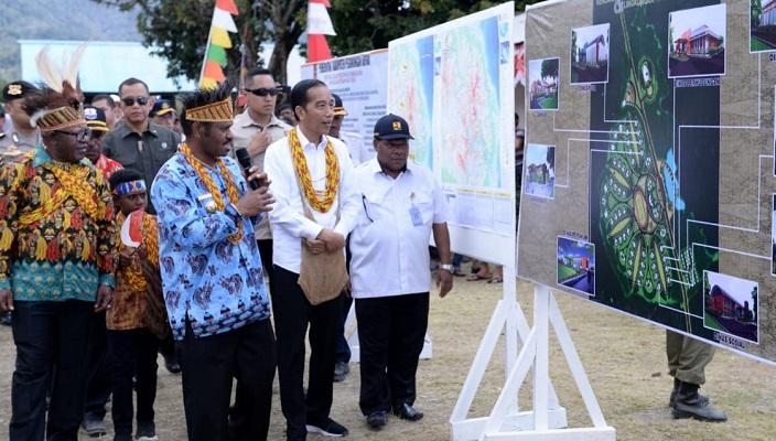 Bertemu Masyarakat Papua, Jokowi Berkomitmen Bangun Infrastruktur