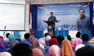 partai demokrat, edhie baskoro yudhoyono, ibas, kabupaten magetan, smart, nusantaranews