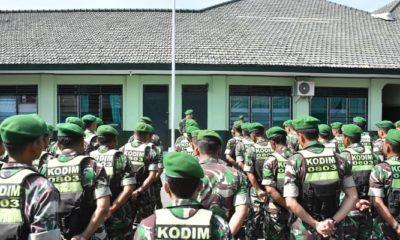 Kodim Madiun Siaga Satu Jelang Pelantikan Presiden dan Wakil Presiden