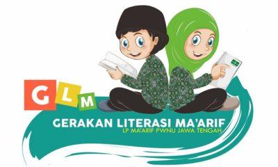 Logo Gerakan Literasi Ma'arif. (Foto: Istimewa)