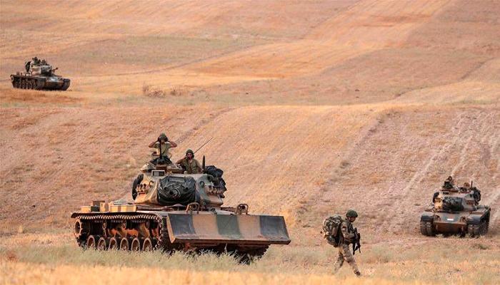 manbij, front baru, perang, penghancuran suriah, pasukan turki, sdf, ypg, perbatasan suriah, pasukan pemerintah suriah, nusantaranews