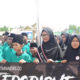 Mars Syubanul Wathon Menggema di Perbatasan RI-Malaysia Saat Upacara Peringatan Hari Santri Nasional 2019 yang berlangsung di Sebatik. (Foto: Eddy Santri/NUSANTARANEWS.CO)