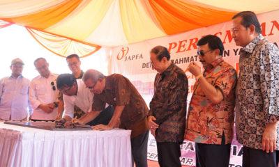Penguatan Bidang Perunggasan JAPFA Resmikan Pabrik Penetasan. (Foto Istimewa)