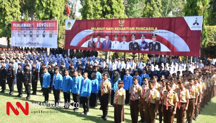 Peringatan Hari Kesaktian Pancasila di Monumen Bekas Keganasan PKI. (Foto: Pangdam/NUSANTARANEWS.CO)