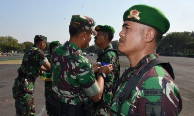prajurit, korem bhaskara jaya, tugas operasi, operasi vvip, nusantaranews
