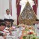 rapat perdana, kabinet indonesia maju, presiden jokowi, para menteri, nusantaranews