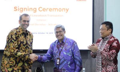 TelkomGroup Akuisisi 2.100 Menara Indosat Ooredoo. (Foto Istimewa)