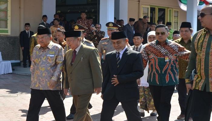 Wakil Presiden RI, M Jusuf Kalla melakukan kunjungan ke Kabupaten Ponorogo, Jatim, Kamis (3/10/2019). (Foto: Muh Nurcholis/NUSANTARANEWS.CO)