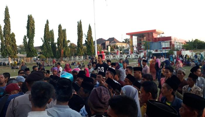 Aksi demonstrasi di Sumenep