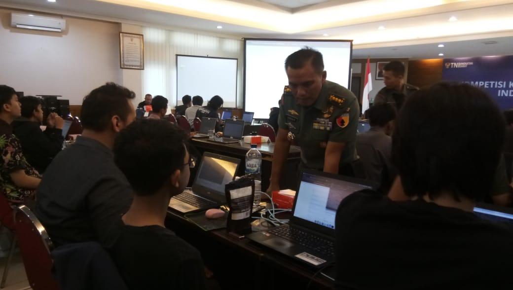 Sterad Gelar Kompetisi Siber di Surabaya