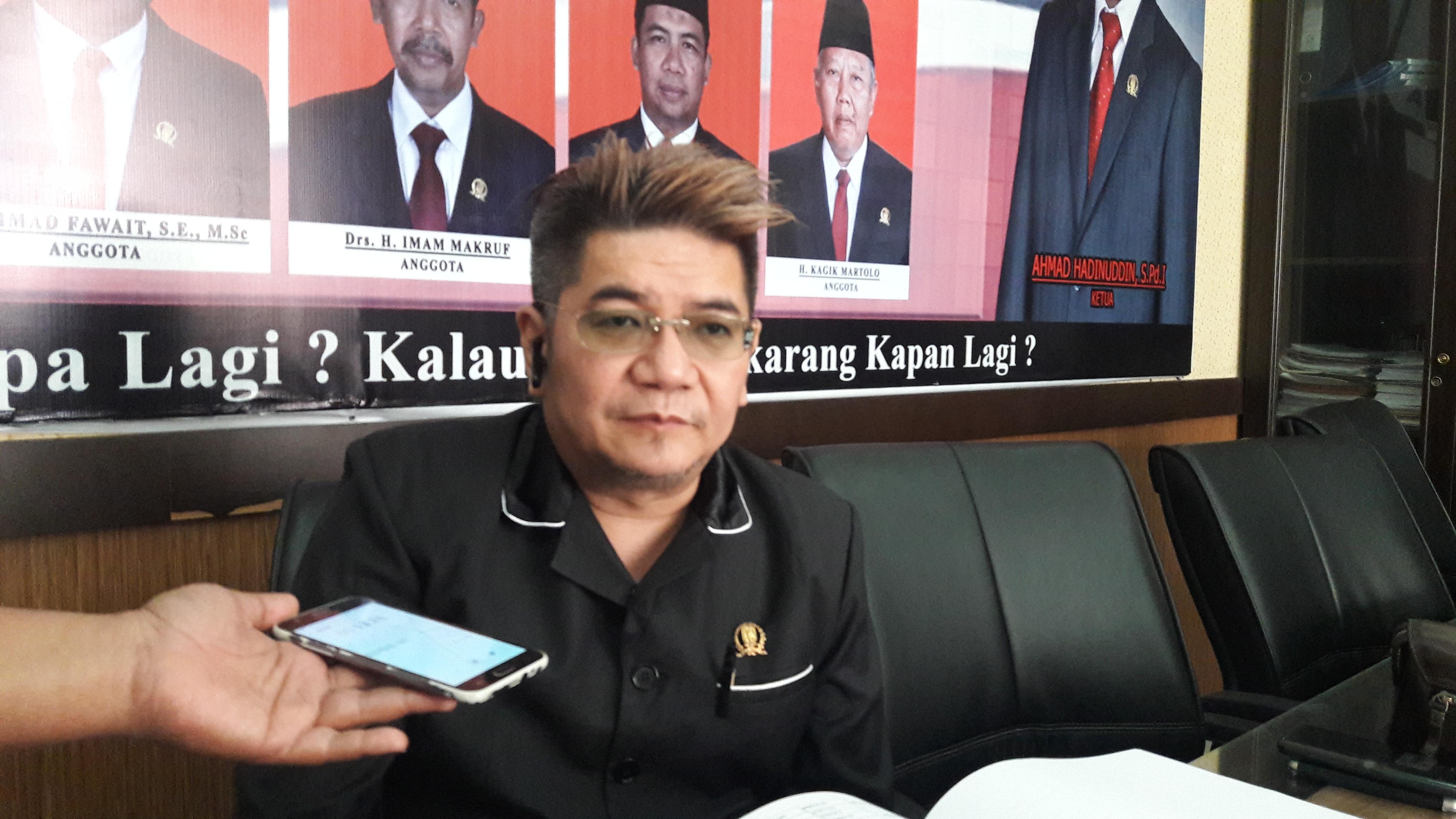 Anggota Komisi E DPRD Jatim Benyamin Kristianto