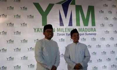 Donny M Siradj bersama KH. Fikri Warits Lounching YMM di Sumenep Madura