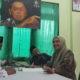 Nurfitriana ditemani sang suami KH. Abuya Busyro Karim resmi mendaftar sebagai bacabup sumenep ke DPC PKB