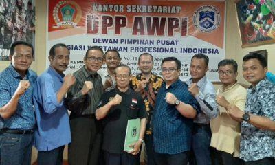 DPP AWPI Gelar Pleno : Konggres AWPI ditunda 2020, DPD AWPI Lampung Dibekukan. (FOTO: Dok. AWPI/nusantaranews.co)
