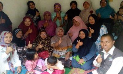 keluarga penerima manfaat, family development session, gizi ibu menyusui, balita, nusantara news