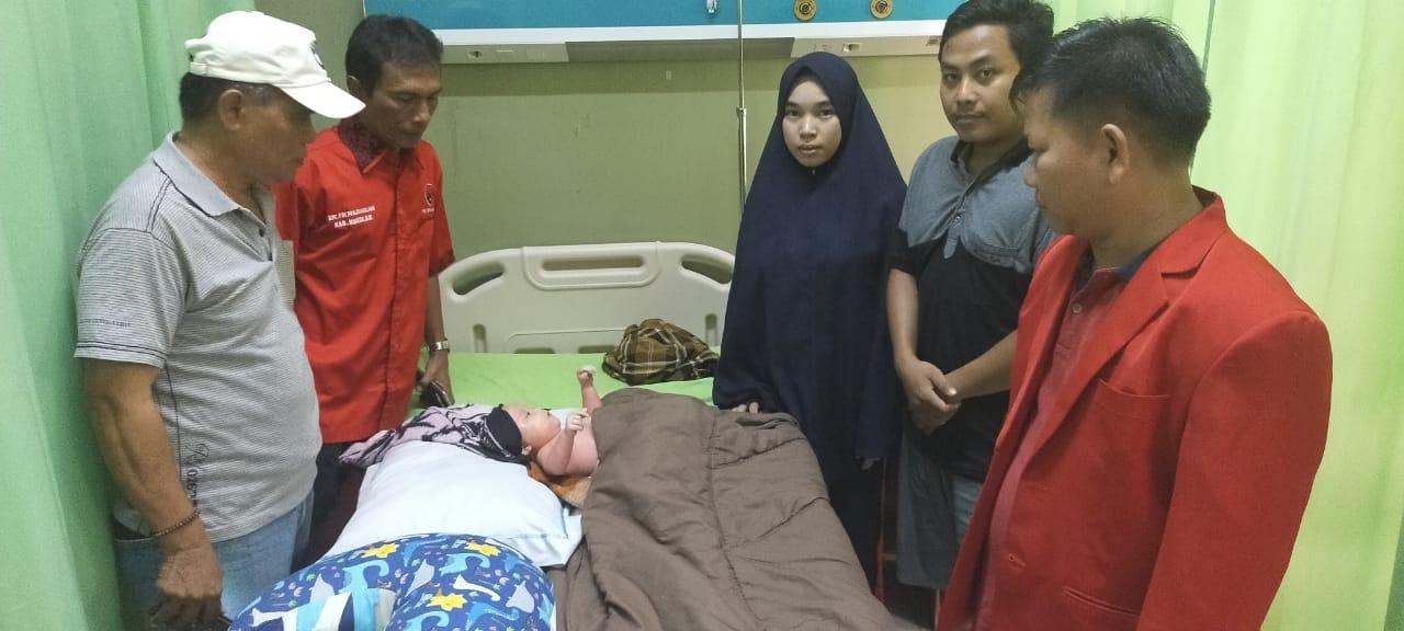 PDIP Nunukan Gunakan Momentum Hari Pahlawan untuk Sambangi Bayi Mizyan