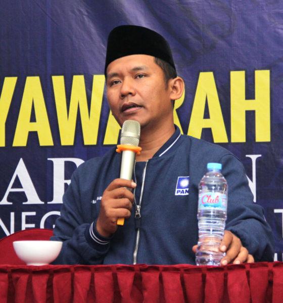 Ketua Fraksi PAN DPRD Jawa Timur, Basuki Babussalam