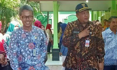 kunjungan kerja ke Dinas Pertanian (Diperta) dalam rangka suksesi Program Pertanian Kabupaten Bondowoso, Jumat (22/11)