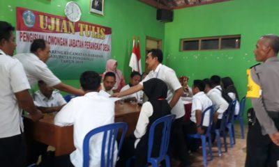 Transparasi Warnai Ujian Pengisian Perangkat Desa Bareng Ponorogo