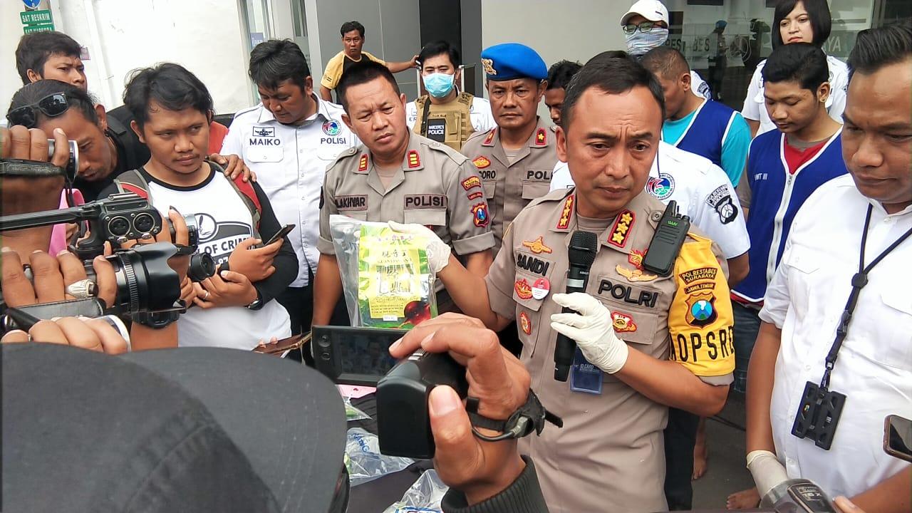Sita 7 Kg Sabu, Polrestabes Surabaya Bekuk Pengedar Jaringan Sokobanah Madura