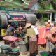 Kurang Satu Jam, Satu Tangki Air Bersih Bantuan PSHT Rayon Bancar Diserbu Warga Desa Bungu