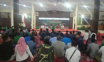 Acara Nyangkruk Bareng di Pendopo Bupati Bondowoso, Rabu (20/11).