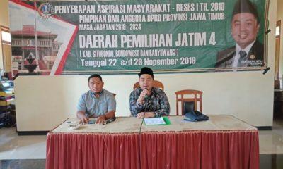 Reses DPRD Jatim, Ubaydillah Janji Perjuangkan Aspirasi Masyarakat