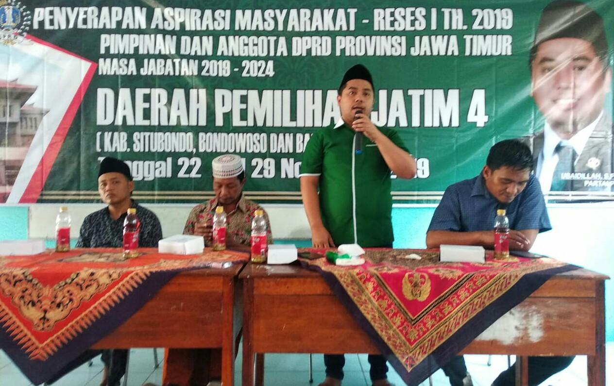 Serap Aspirasi di Situbondo, Anggota DPRD Jatim Janji Perjuangkan Nelayan
