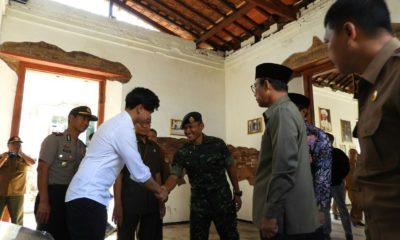 Benteng Van Den Bosch Ngawi Tarik Perhatian Putra Presiden Jokowi