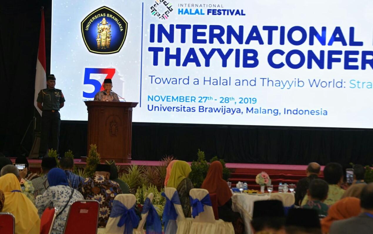 Bertolak ke Malang, Wapres Hadiri Konferensi Internasional Halal dan Thoyyib 2019