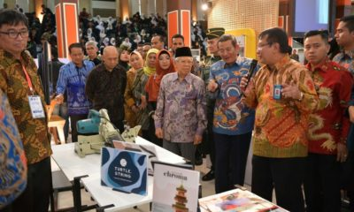 Wakil Presiden KH Ma'ruf Amin bicara soal produk halal Indonesia.
