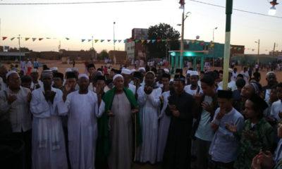 PCINU Sudan Rayakan Maulid Nabi Bersama Syaikh Idris Abu Qurun. (Foto Istimewa)