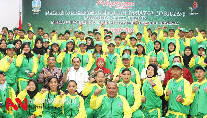 Para Atlet Jatim Ditargerkan Bisa Ikut Sea Games di Manila. (Foto: Setya/NUSANTARANEWS.CO)