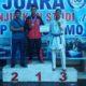 Prada Sakti Inanggoro Yonif 511/DY Sabet Medali Perak Kejuaraan Nasional Karate Malang Open 2019. (FOTO: NUSANTARANEWS.CO)