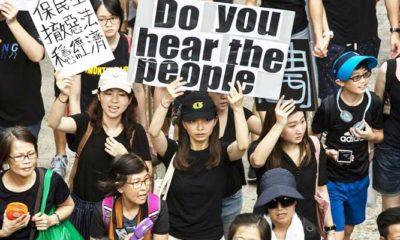 Presiden Trump Sahkan UU Prodemokrasi Hongkong, Beijing Marah