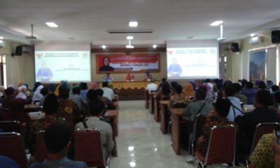 Melalui Sosialisasi Empat Pilar MPR RI yang dilaksanakan di Gedung Bappeda Pemkab Ponorogo, Selasa (26/11/2019) Sri Wahyuni mengatakan EmpatPilar kehidupan berbangsa harus dipahami oleh semua masyarakat Indonesia.