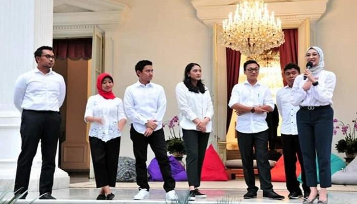 stafsus presiden, presiden jokowi, ucapan selamat bekerja, nusantaranews