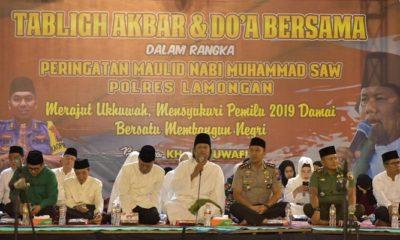 tokoh masyarakat, lamongan, persatuan, kesatuan, nusantaranews
