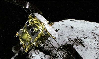 Wahana Hayabusa2 Meninggalkan Asteroid Menuju Bumi