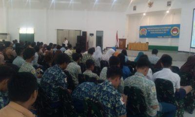 Taruna Nusantara Sosialisasi Penerimaan Siswa Baru di Korem Bhaskara Jaya