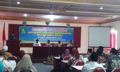 Disdik Sumenep Berikan Bantuan 6,4 M untuk 1.497 Lembaga Pendidikan Diniyah dan Guru Swasta