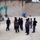 Rombongan Komisi III DPRD Sumenep bersama mahasiswa saat di lokasi galian C di Desa Torbang Kecamatan Batuan