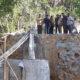 Komisi III DPRD Sumenep saat sidak di lokasi jembatan di Desa Pakamban Daya Kecamatan Pragaan