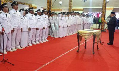 Pelantikan 226 Kades di Pendopo Agung Keraton Sumenep