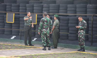 Lapangan Tembak Direnovasi, Pacu Ketangkasan Prajurit Korem Bhaskara Jaya