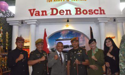 Peringatan HUT Korps Armed TNI AD, Ada Benteng Van Den Bosch di Cimahi